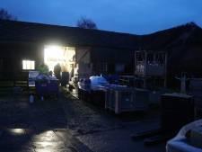 Jarenlange celstraffen voor drugslab in schuur van oud-profvoetballer in Voorst