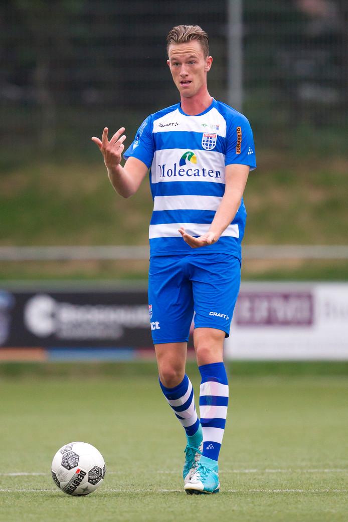 Sander van Looy heeft een contract verdiend bij PEC Zwolle.
