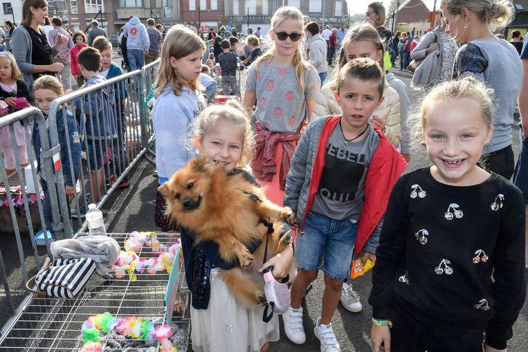 Alle dieren waren welkom op de kinderjaarmarkt in Grembergen.