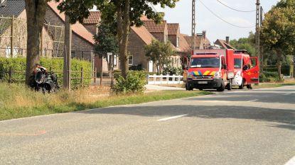Motorrijder (27) in levensgevaar na ongeval