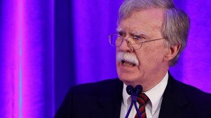"""Veiligheidsadviseur Trump haalt uit naar """"gevaarlijk"""" Internationaal Strafhof"""