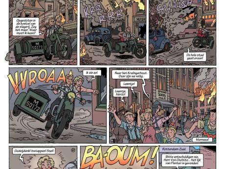 Rotterdam 1940 als strip: 'Keiharde feiten in een spannend jasje'