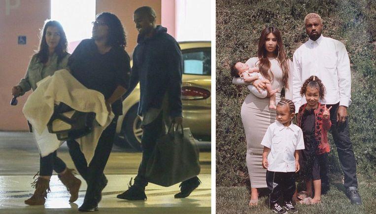 The Kardashians met een van hun nanny's.