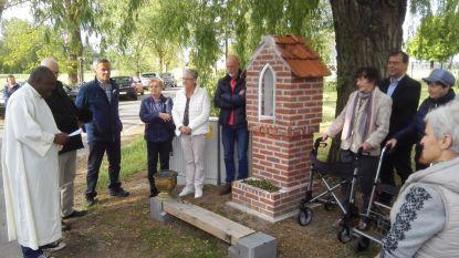 Kapelletje aan Kaulillerweg in ere hersteld