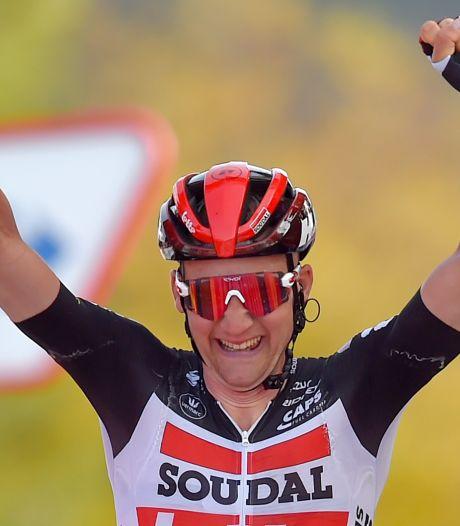Victoire d'étape et maillot à pois: superbe coup double pour Tim Wellens sur la Vuelta