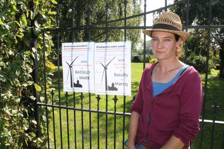 Sandra Verweij, woordvoerster van Burgerplatform Respect.