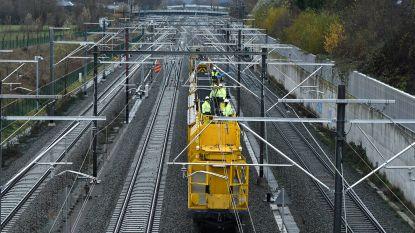 Werktreinen botsen: vijf Infrabel-werknemers lichtgewond