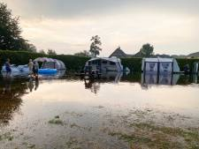 Plotseling noodweer veranderde camping in Lunteren  in zwembad: 'We konden nergens heen'