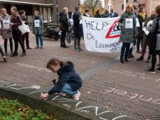 Lang niet alle basisscholen in Amersfoort staken deze week