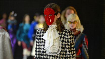 Gucci opent modeweek in Milaan met show in teken van carnaval