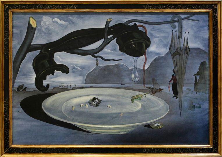 Het enigma van Hitler, van Salvador Dalí. Beeld Imageselect