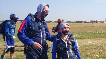 Je bent nooit te oud om je dromen te realiseren: Jacqueline (90) springt uit vliegtuig
