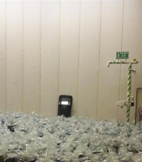 Zeven mannen opgepakt voor smokkel drugs tussen houtskool