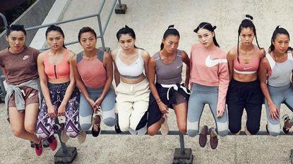 Hebben: Nike lanceert nieuwe collectie en alles is roze