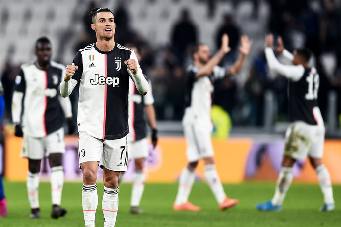 Cristiano Ronaldo : Juventus Turin vs Parme.