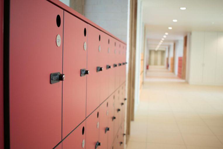 Elke leerling krijgt een persoonlijke locker.