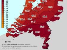 In Brabant temperatuur ver boven de 30: Eindhoven en Gilze-Rijen zelfs al 33 graden