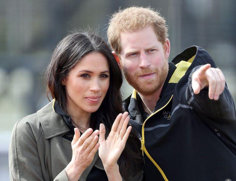 Prince Harry en Meghan Markle.