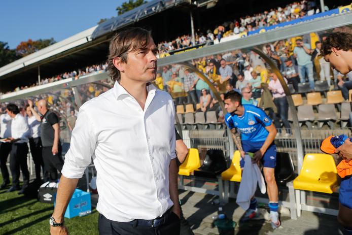Phillip Cocu won vorig weekend met PSV bij VVV: 2-5. Over de laatste drie duels van PSV is het doelsaldo 16-3 in het voordeel van de Eindhovenaren.
