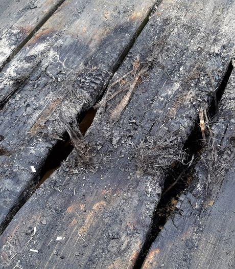 Vandalen veroorzaken brand in top Pompejus