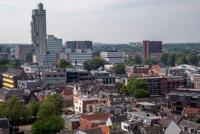Ook Tilburg kent hoogbouw.