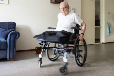Zelfs zonder benen blijft Joop gewoon dansen