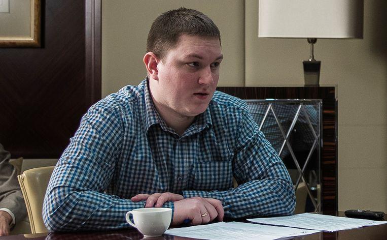 Journalist Maxim Solopov wordt sinds maandag vermist. Beeld Tom Vennink