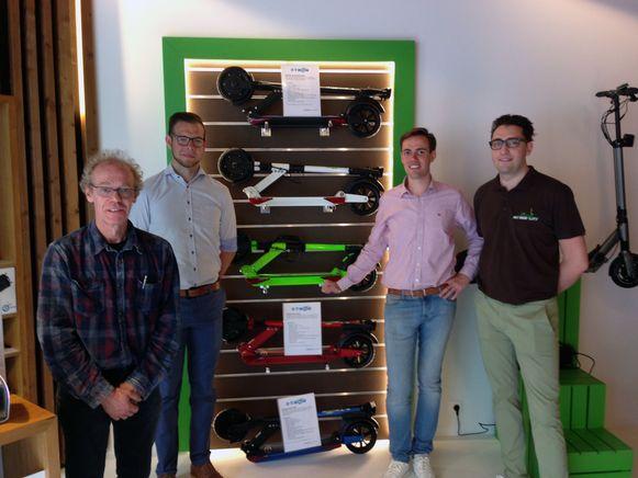 Het team van My Mobelity wil een bijdrage leveren aan het mobiliteitsvraagstuk in Leuven en omstreken.