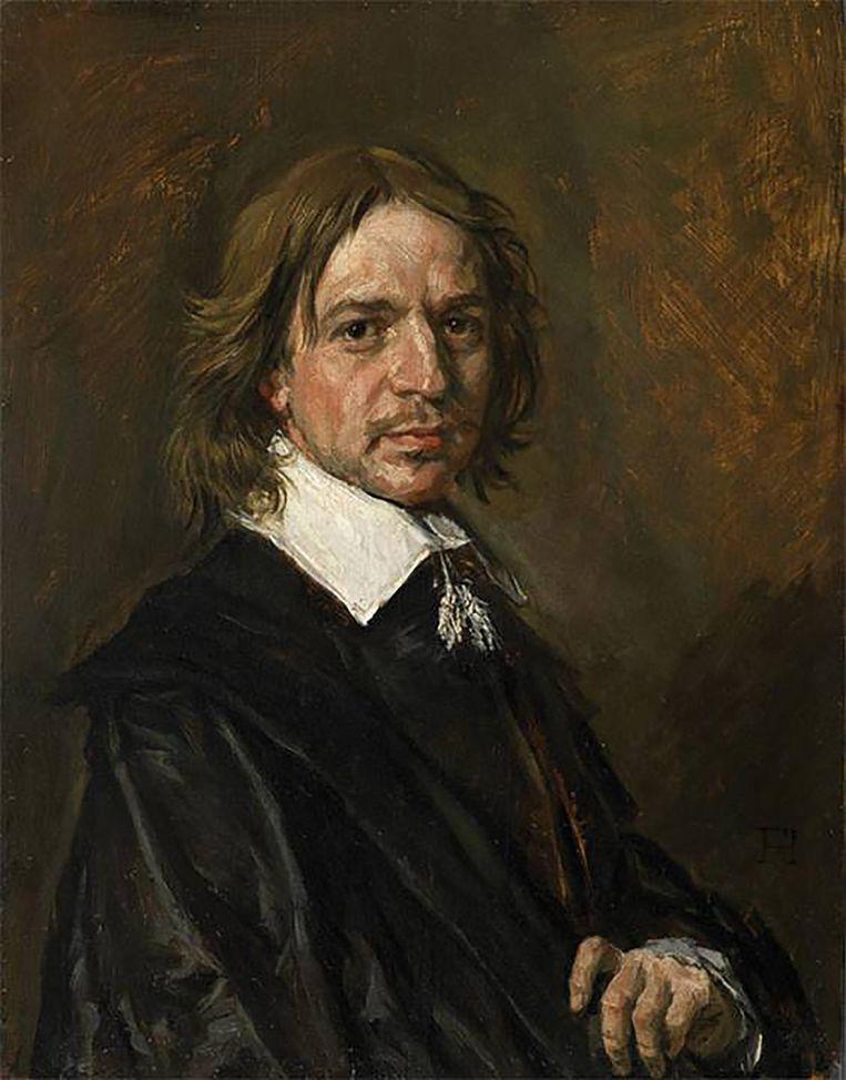 Een onbekende man van 'Frans Hals' Beeld Sotheby's