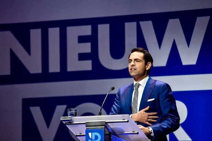 Tom Van Grieken, président du Vlaams Belang
