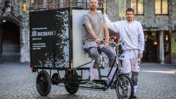 """""""Ik was de parkeerboetes in Brugge beu"""": schilder Jimmy ruilt bestelwagen voor... fiets"""