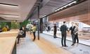 Het kantoor, the office, in de Lochal, waar de nieuwe organisatie neerstrijkt die ontstaat na fusie van bkkc en Kunstbalie.