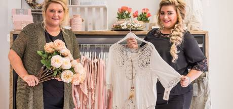 Zusjes openen winkel met zelfgemaakte spulletjes in Tubbergen