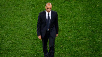 """Roberto Martínez, die niet veel lijkt te gaan wisselen in wedstrijd om het brons, the day after: """"We hebben de lat voor het Belgisch voetbal hoger gelegd"""""""