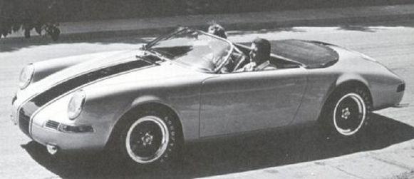 De originele Porsche Speedster van Stan Townes.