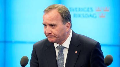 Zweeds parlement schuift premier Stefan Löfven aan de kant