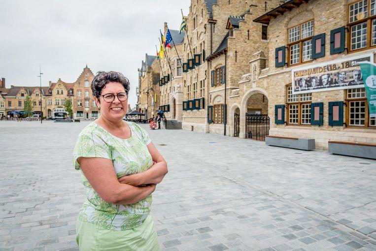 """""""Schaf de opkomstplicht af voor alle verkiezingen"""", vindt burgemeester Lies Laridon."""