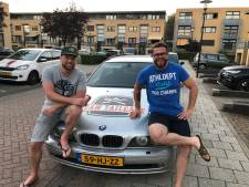 Geld voor schoolreisjes van ondernemers-duo door sponsorrally Barrel Challenge