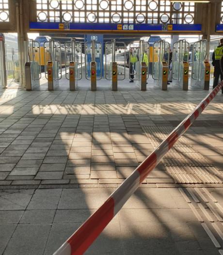Verdacht pakketje werd bewust neergelegd op station Enschede