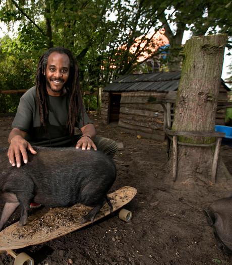 Cabaretier Marlon Kicken: Ik word zen als ik koeienstront ruik