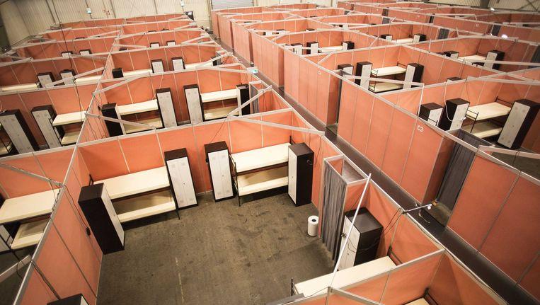 Noodopvang in de Zeelandhallen in Goes Beeld ANP