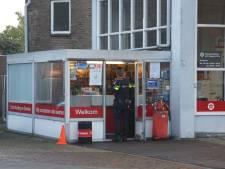 Overval op tankstation in Kaatsheuvel, politie zoekt in wijk naar dader