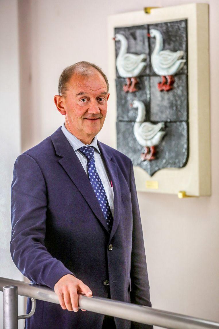 De Jabbeekse burgemeester Daniël Vanhessche.
