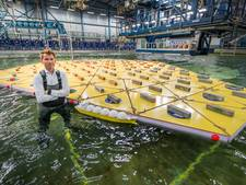 MARIN test eerste drijvende mega-eiland