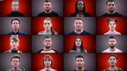 VIDEO: de 32 finalisten zijn HE-LE-MAAL klaar voor liveshows 'The Voice'