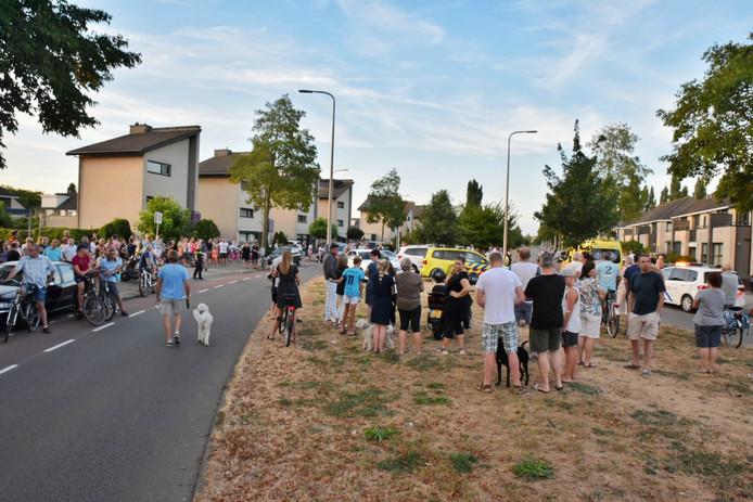 Massale belangstelling na incident met kind in Tilburg