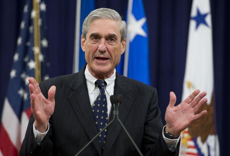 Robert Mueller.  Beeld AFP