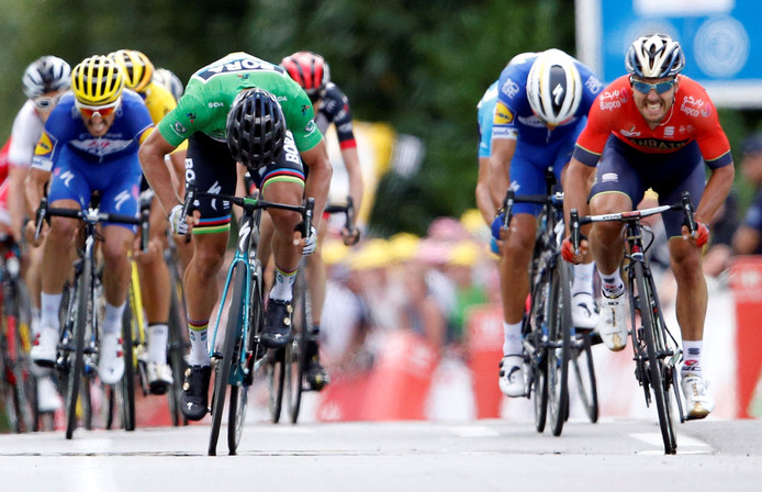 Peter Sagan levert elke dag punten op in de Lezerstour, maar vandaag en morgen geldt dat ook voor renners als Colbrelli, Alaphilippe en Gilbert.