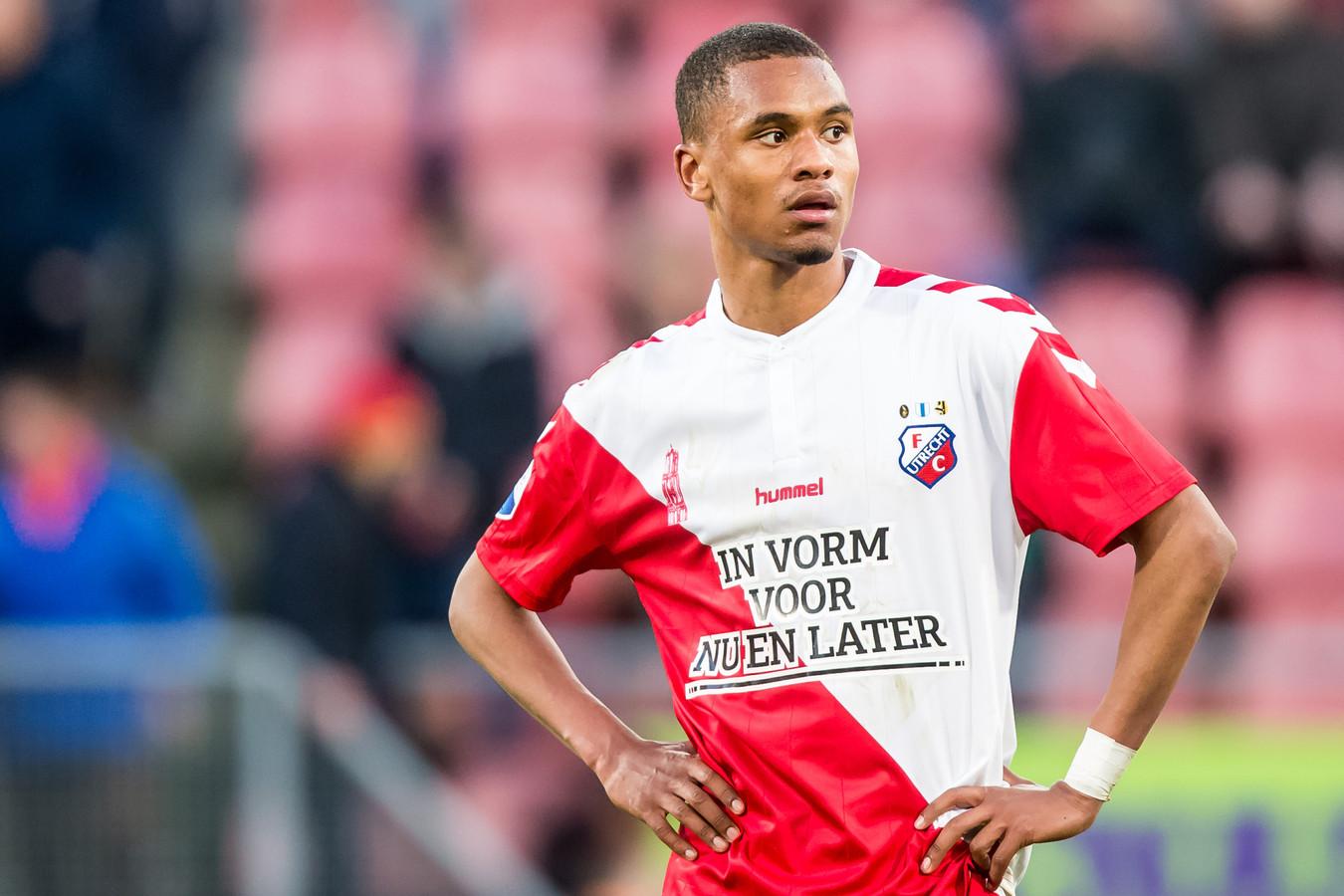Patrick Joosten produceerde de openingstreffer voor Jong FC Utrecht in het thuisduel met Jong  Ajax.