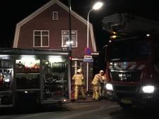 Needse brandweer in actie voor schoorsteenbrand